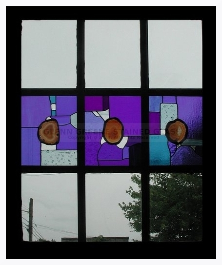 Photo of a Stained Glass Window