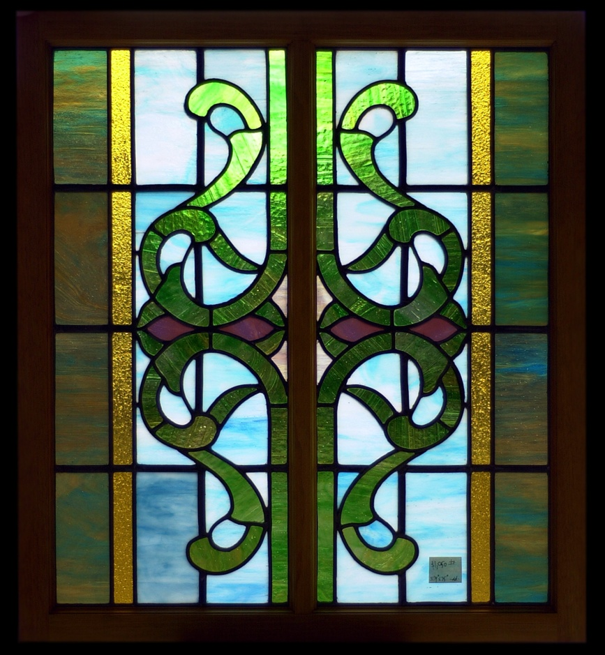Photograph of stained glass window